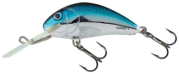 Salmo Hornet 6cm Floating (keuze uit 9 opties) - Silver Blue Herring (BHH)