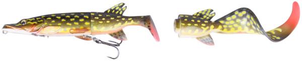 Savage Gear 3D Hybrid Pike 17 & 25cm (keuze uit 5 opties) - Yellow Pike