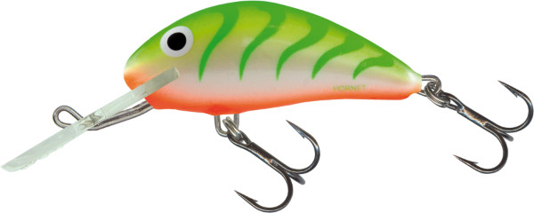 Salmo Hornet 5cm, USA kleuren! (keuze uit 23 opties) - Green Tiger Uv