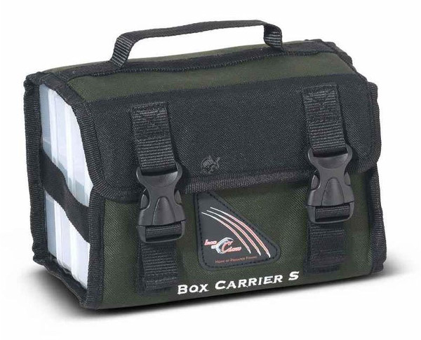 Iron Claw Box Carrier + 3 Tackleboxen