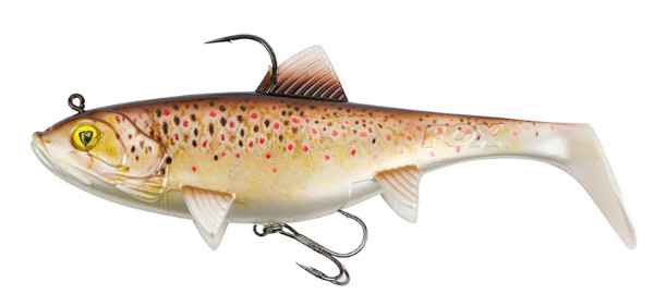 Fox Rage Replicant Super Natural Trout Jointed & Wobble (Keuze uit 6 opties) - Wobble Brown Trout: