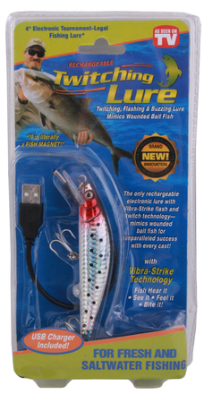 Rechargeable Twitching Lure