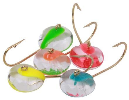 Spro Trout Glass Glow Jigs, 5 stuks! (keuze uit 2 opties)