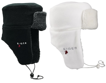 Eiger Fleece Korean Hat - Black L/XL