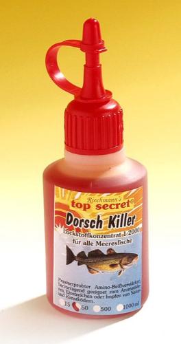 Top Secret Killer Aroma 50ml (Keuze uit 8 opties) - Top Secret Killer Aroma 50ml - Cod Killer