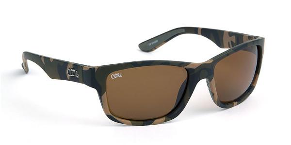 Fox Chunk Sunglasses (keuze uit 3 opties) - Camo Frame/Brown Lens
