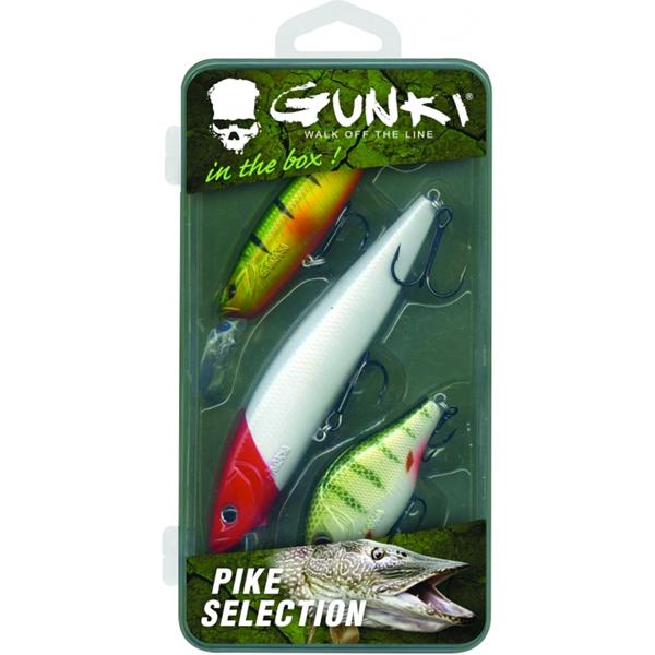 Gunki Box Snoek Selectie (bevat 3 pluggen)