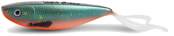 Iron Claw Slab Double Curl 23cm (keuze uit 8 kleuren) - Ro