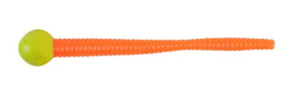 Berkley Powerbait Mice Tail 7,5cm (Keuze uit 3 opties) - Chartreuse / Fluo Orange