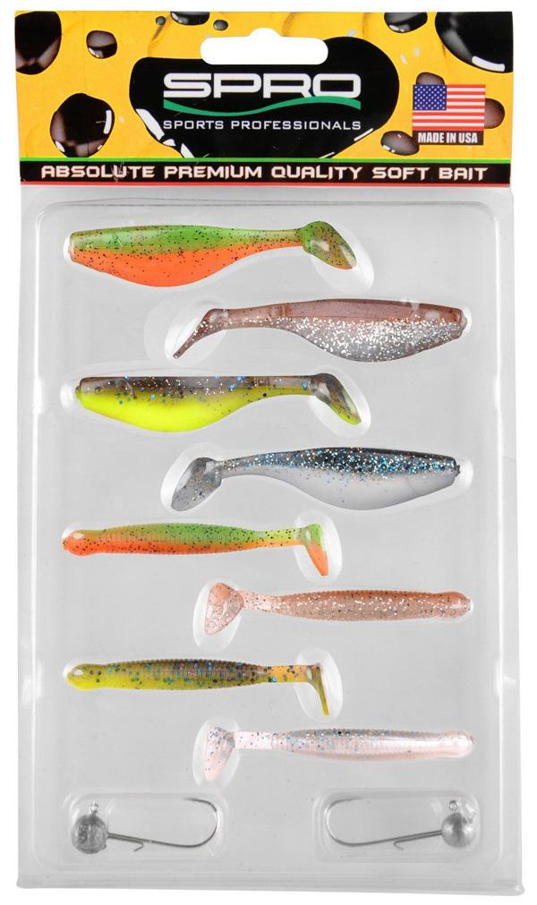 Spro Ready 4 Fish Kit 7cm (keuze uit 2 opties) - Set E
