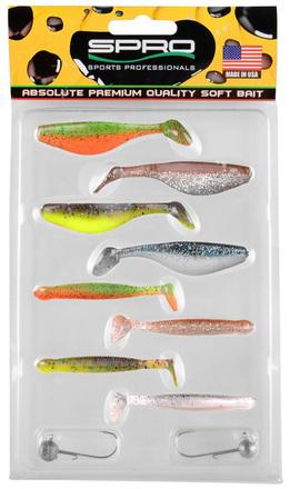 Spro Ready 4 Fish Kit 7cm (keuze uit 2 opties)
