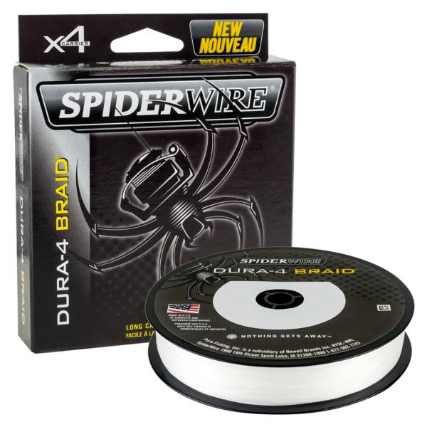 Spiderwire Dura 4 Braid Translucent (keuze uit 9 opties)