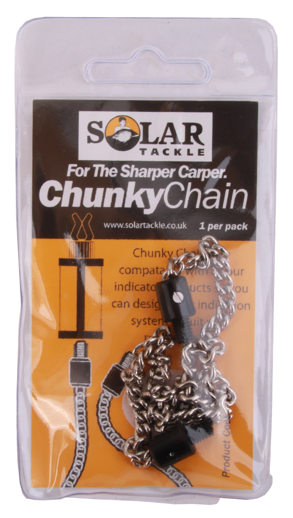 """Solar Stainless Chain Plastic Ended 9"""""""