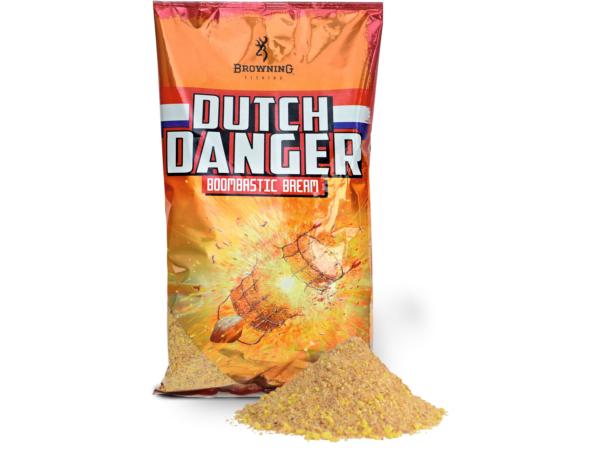 Browning Dutch Danger Groundbait, 3 zakken á 1.0kg (keuze uit 3 opties) - Browning Dutch Danger Groundbait 1.0kg - Boombastic Bream:
