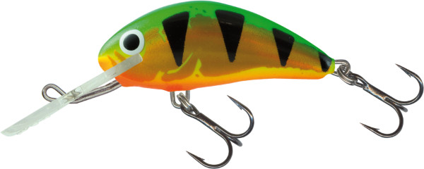 Salmo Hornet 4cm, USA kleuren! (keuze uit 26 opties) - Holo Green Tiger