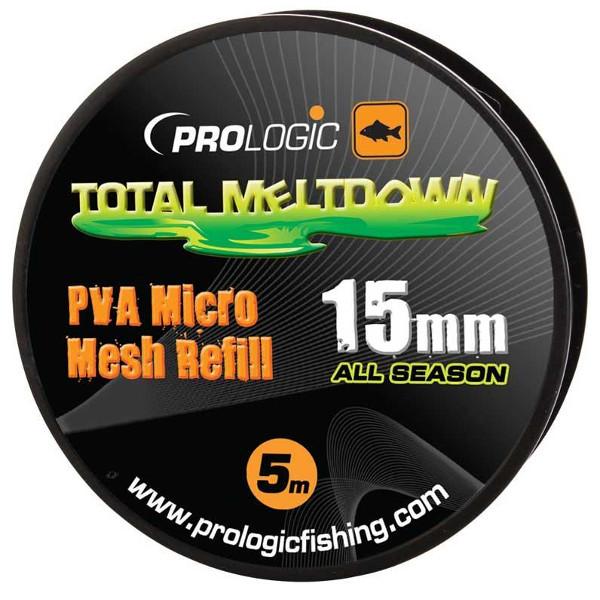 Prologic PVA All Season Micro Mesh Refill 5m (keuze uit 15 of 24mm)