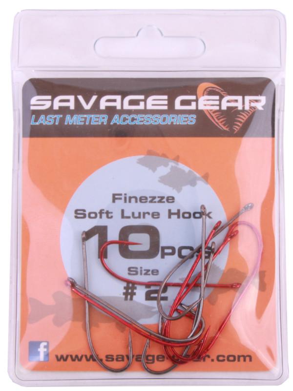 Savage Gear Finezze Soft Lure Hook (keuze uit 3 opties)