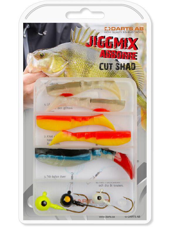 Darts Jiggmix Cut Shad met softbaits en jigheads!