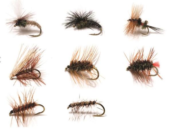 Kinetic Dry Flies, 8 stuks (keuze uit 2 opties) - Dry Flies 1