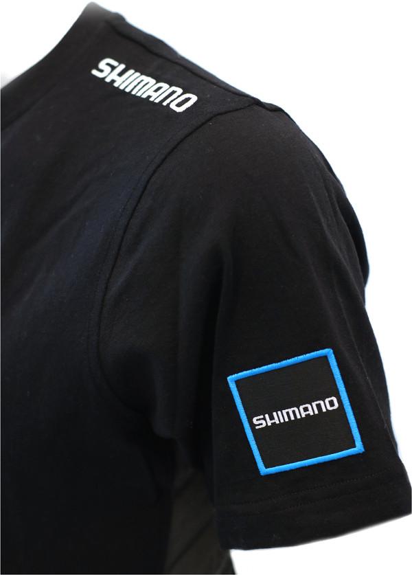 WOW Shimano T-Shirt 2018 Black (keuze uit M t/m XXXL)