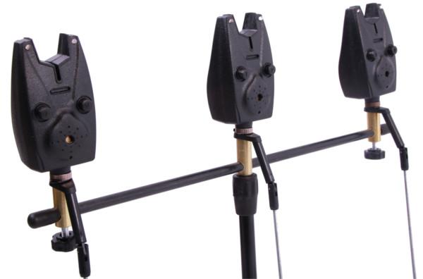 Rod pod compleet met beetmelders, batterijen, swingers en rod rests (keuze uit 2 of 3 beetmelders)