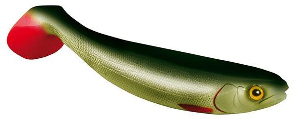 Jackson The Shad 10cm, 2 stuks! (keuze uit 7 opties) - Whitefish Green