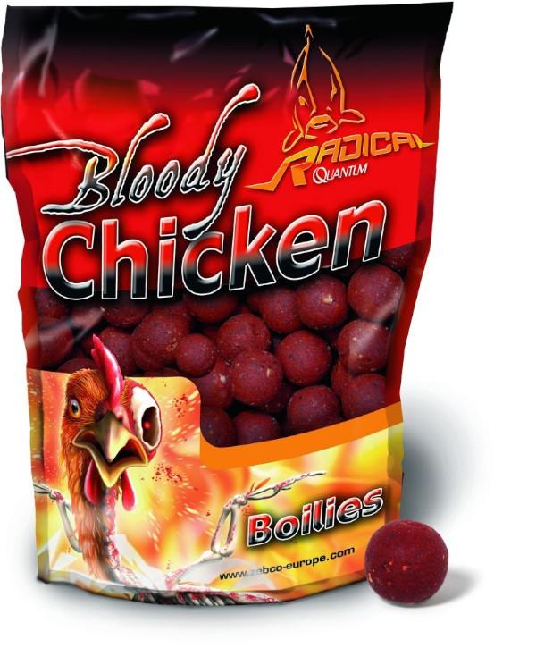 1kg Radical Bloody Chicken Boilies (Keuze uit 2 opties)