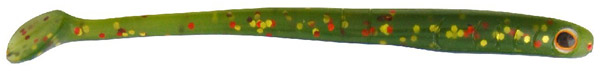 Spro Snake Paddle Shads 9cm, 10 stuks (keuze uit 3 opties) - Water Melon