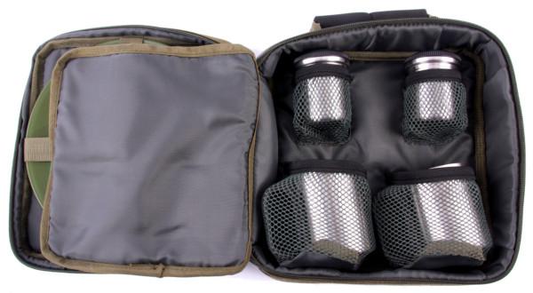 NGT Complete Bestek Set voor 2 Personen inclusief Carry Case