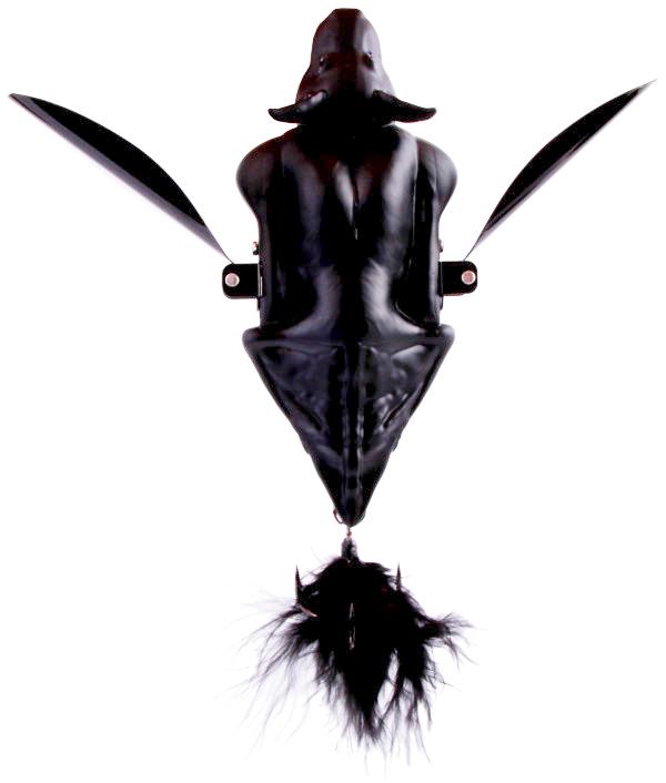 Savage Gear 3D Bat + Salmo Kunstaasverrassing (keuze uit 12 opties) - Black