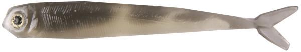 """Fishbelly Hawg Shads Split Tail 2,8"""", 7 stuks (keuze uit 14 opties) - Silverside"""