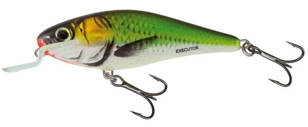 Salmo Executor 12cm Shallow Runner (keuze uit 3 opties) - Emerald Fish