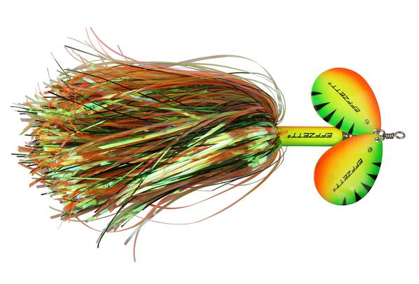 Effzett Pike Rattlin' Spinner (keuze uit 7 opties) - Firetiger
