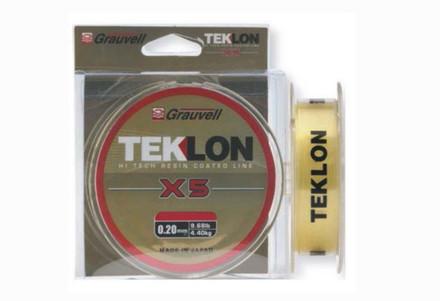 Grauvell Teklon X5, topkwaliteit nylon Made in Japan (keuze uit 6 opties)