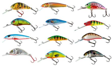 Salmo Pro Pack met 12 pluggen + Ultimate Tacklebox