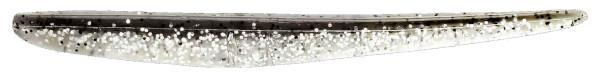 Lunker City Slug-Go 4,5'', 10 stuks! (keuze uit 23 opties) - Silver Pepper Shiner
