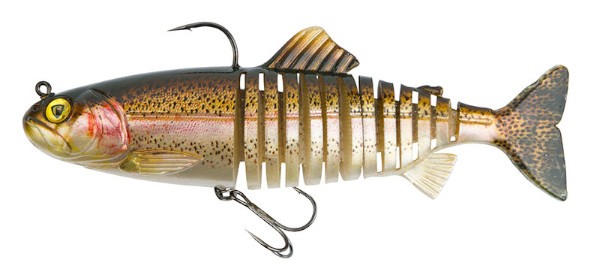 Fox Rage Replicant Super Natural Trout Jointed & Wobble (Keuze uit 6 opties) - Jointed Rainbow Trout: