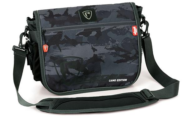 Fox Rage Voyager Camo Messenger Bag + 2 Tackleboxen