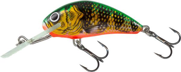Salmo Hornet 4cm, USA kleuren! (keuze uit 26 opties) - Orange Perch