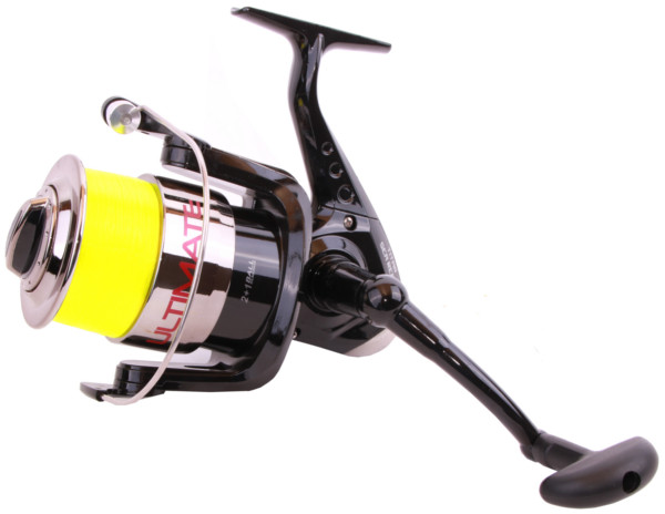 Ultimate Titan Sea Reel volgespoeld met nylon