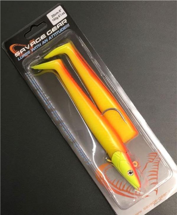 Savage Gear Sandeel 18cm 100g Red & Yellow UV