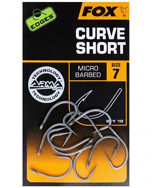 Fox Edges Armapoint Curve Shank Short maat 7