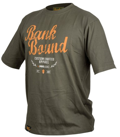 Prologic Bank Bound Retro T-shirt Green (bescikbaar in maat M t/m XXL)