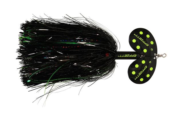 Effzett Pike Rattlin' Spinner (keuze uit 7 opties) - Black Demon