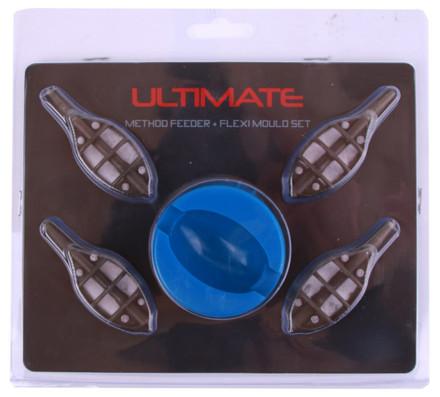 Ultimate 4+1 Method Feeder Set