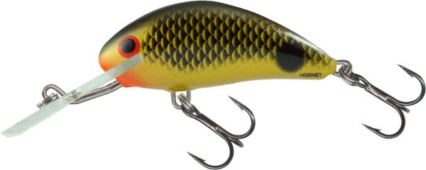 Salmo Hornet 5cm, USA kleuren! (keuze uit 23 opties) - Uv Black Gold