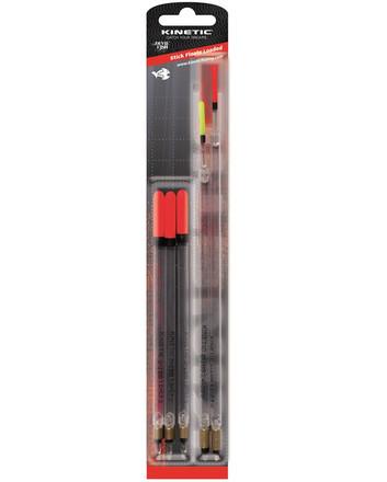 Kinetic Stick Floats Verzwaard, 5 stuks