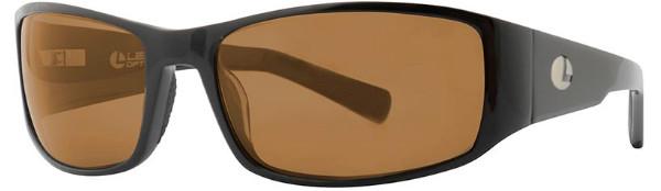 Lenz Optics Nordura Polarised Sunglasses (keuze uit 4 opties) - Black w/Brown Lens