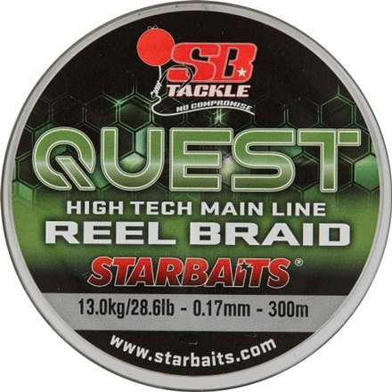 Starbaits Quest Reel Braid 0,17mm/300m