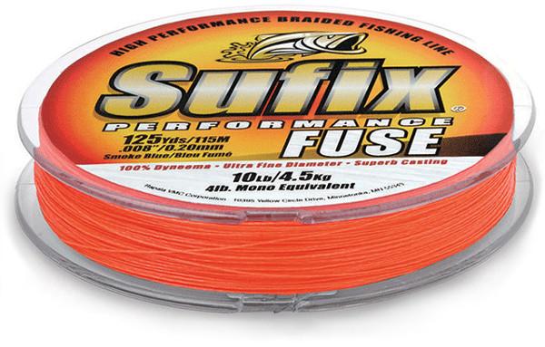 Sufix Performance Fuse Gevlochten Lijn 1500m (keuze uit 4 opties) - Oranje